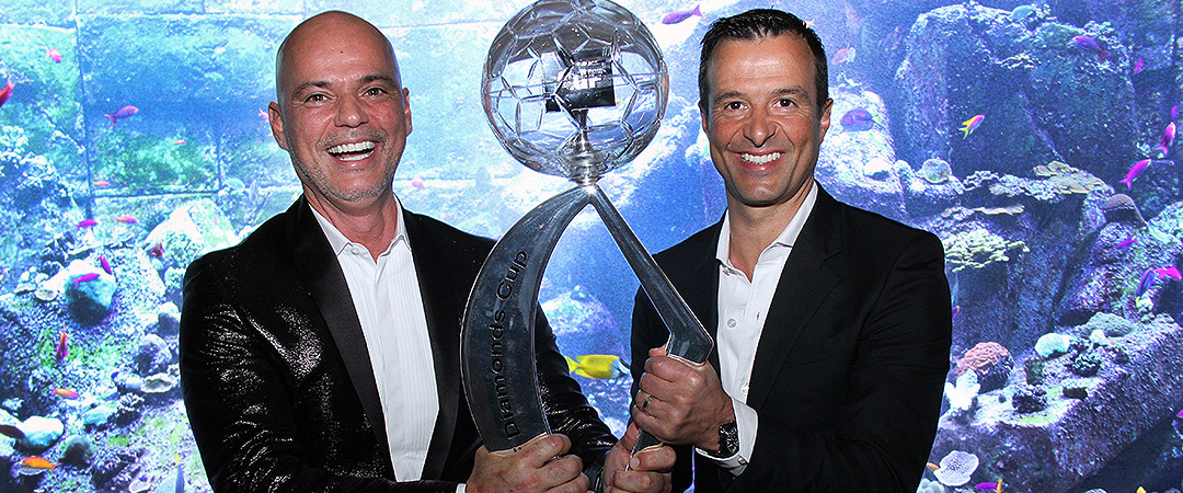 AdF Diamonds Cup, Special Award for Jorge Mendes, Best Agent of Globe Soccer 2014, in partnership with AdF & Marca