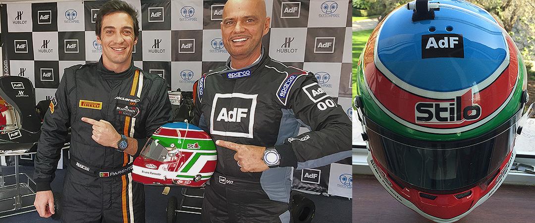 Parceria entre a marca AdF e Álvaro Parente, o maior piloto português.