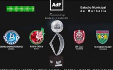 AdF Diamonds Cup at Marbella Football Center next 5, 8 and 11 February 2014